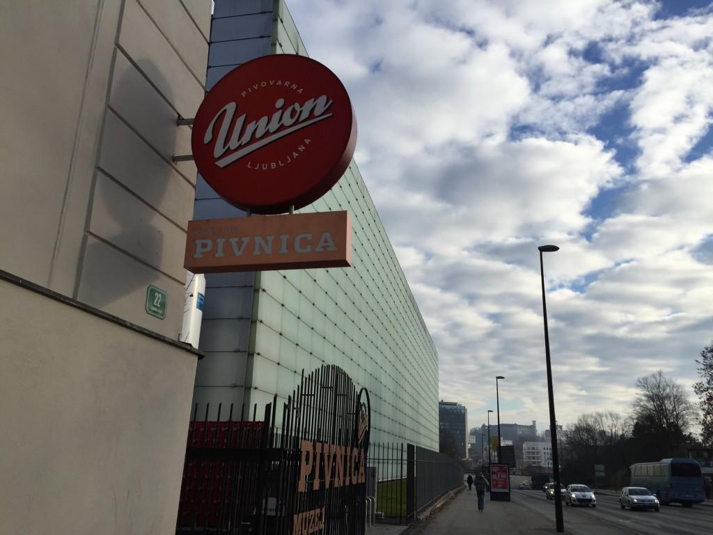 Union, une fabrique de bière