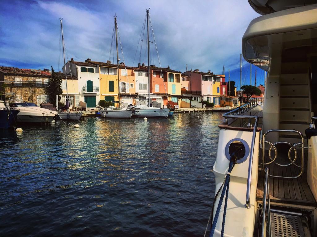 Port Grimaud, une ville construite sur l'eau