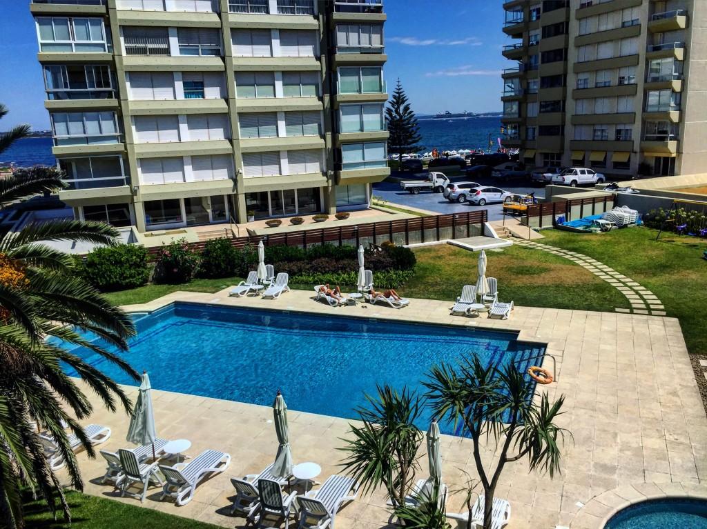 Une piscine à Punta del Este