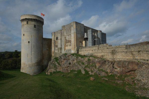 Le château de Guillaume le Conquérant à Falaise dans le Calvados
