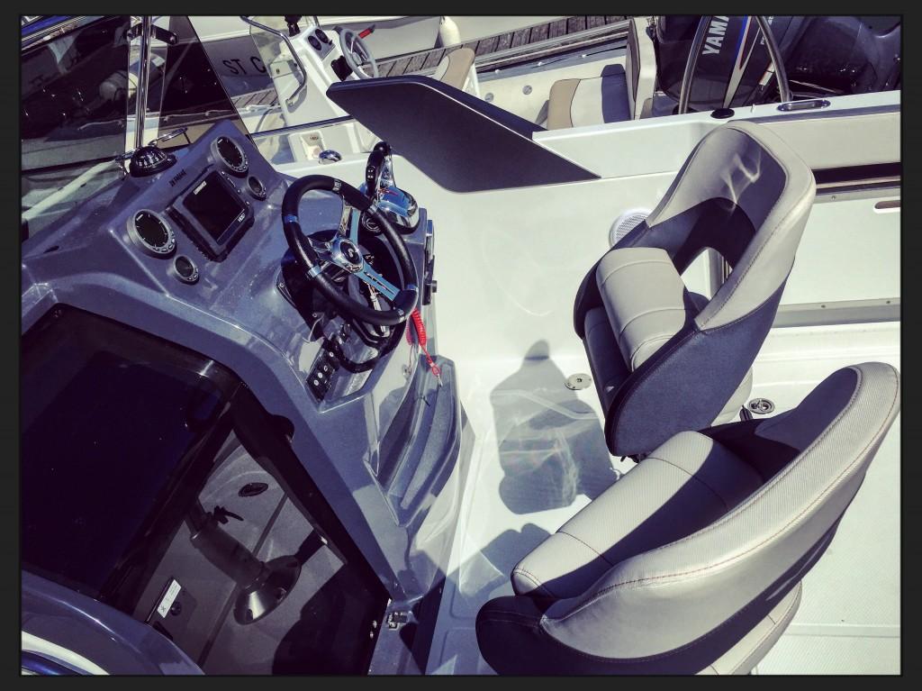 Un design de cockpit très réussi