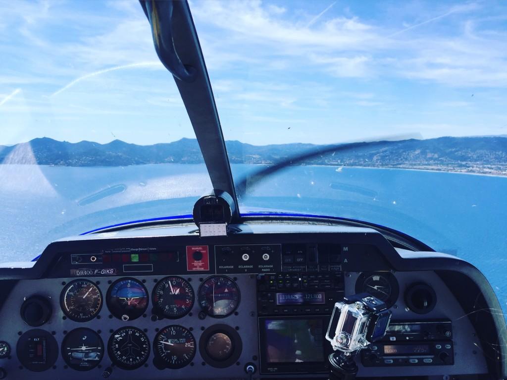 Survol maritime de la French Riviera