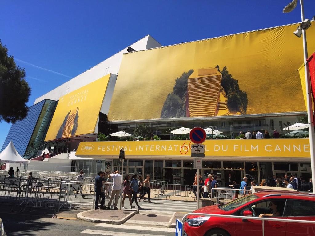 Le palais des Festivals à Cannes