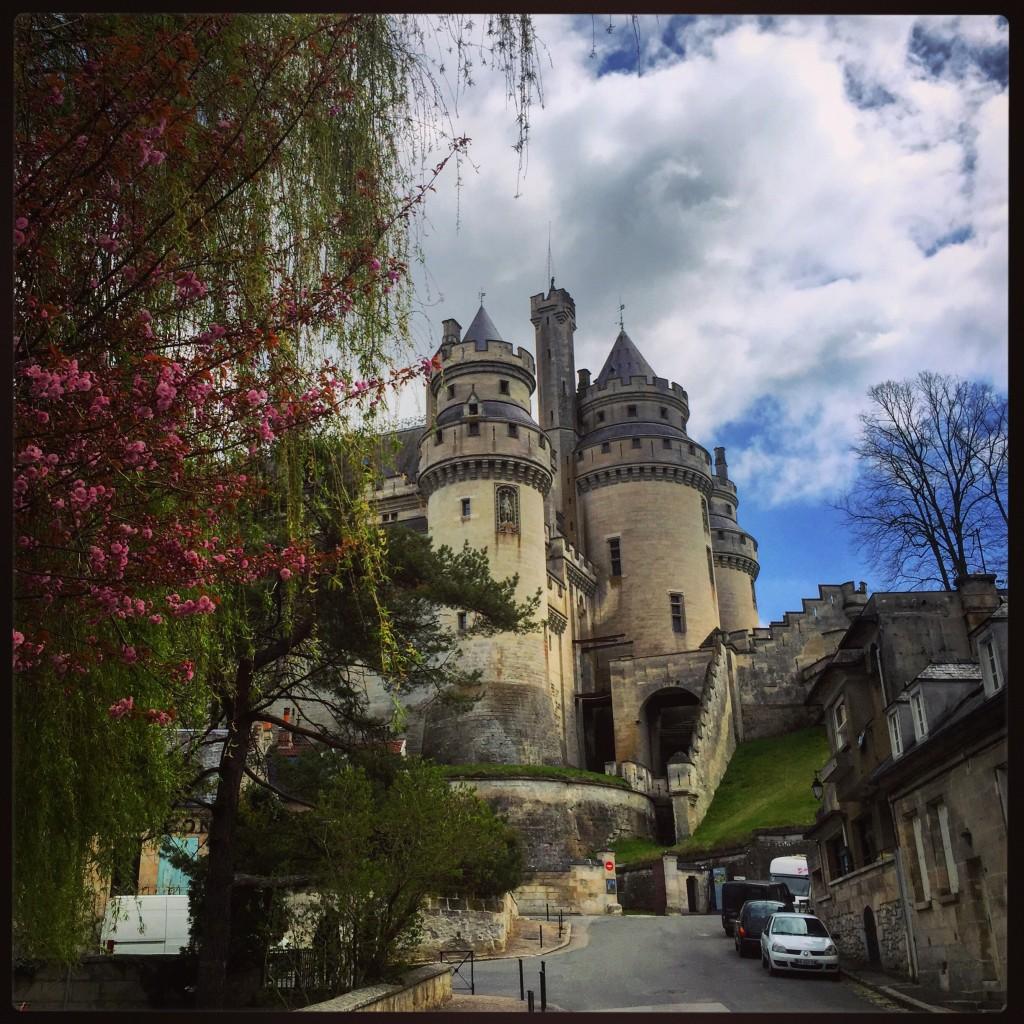 Le château de Pierrefonds dans l'Oise