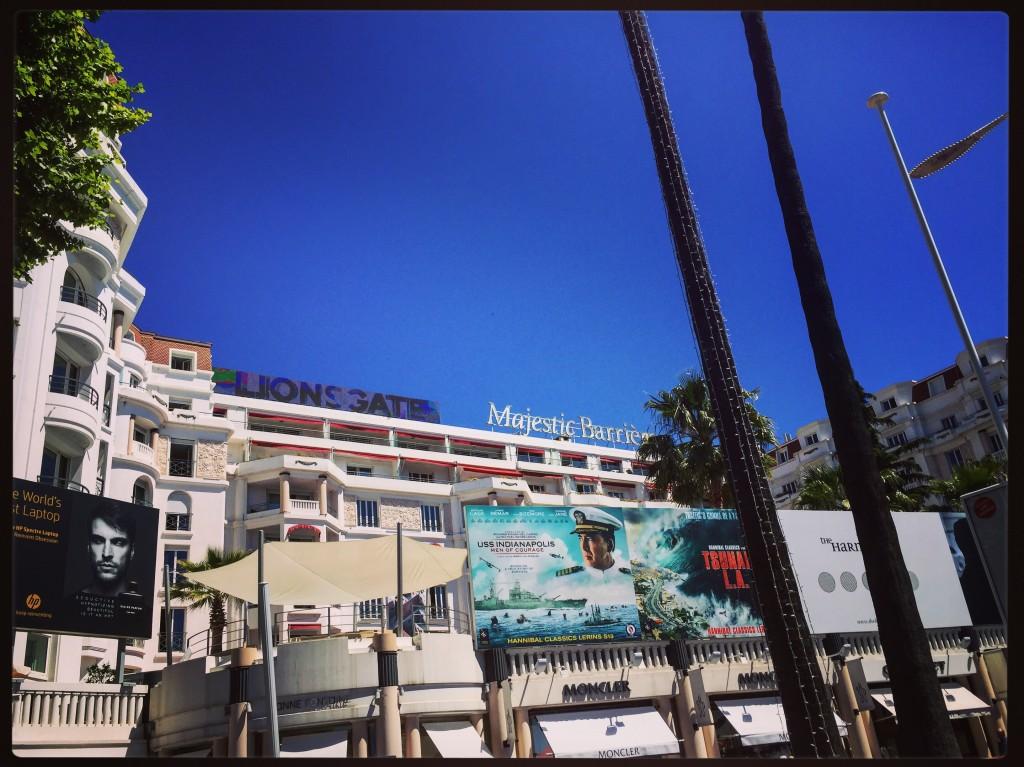 Le Majestic à Cannes.