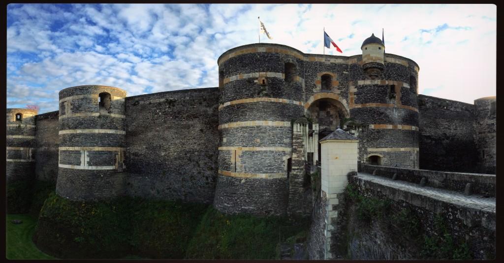 Le château fort d'Angers