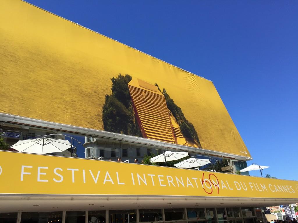 Quand le festival de Cannes Adopte le jaune.