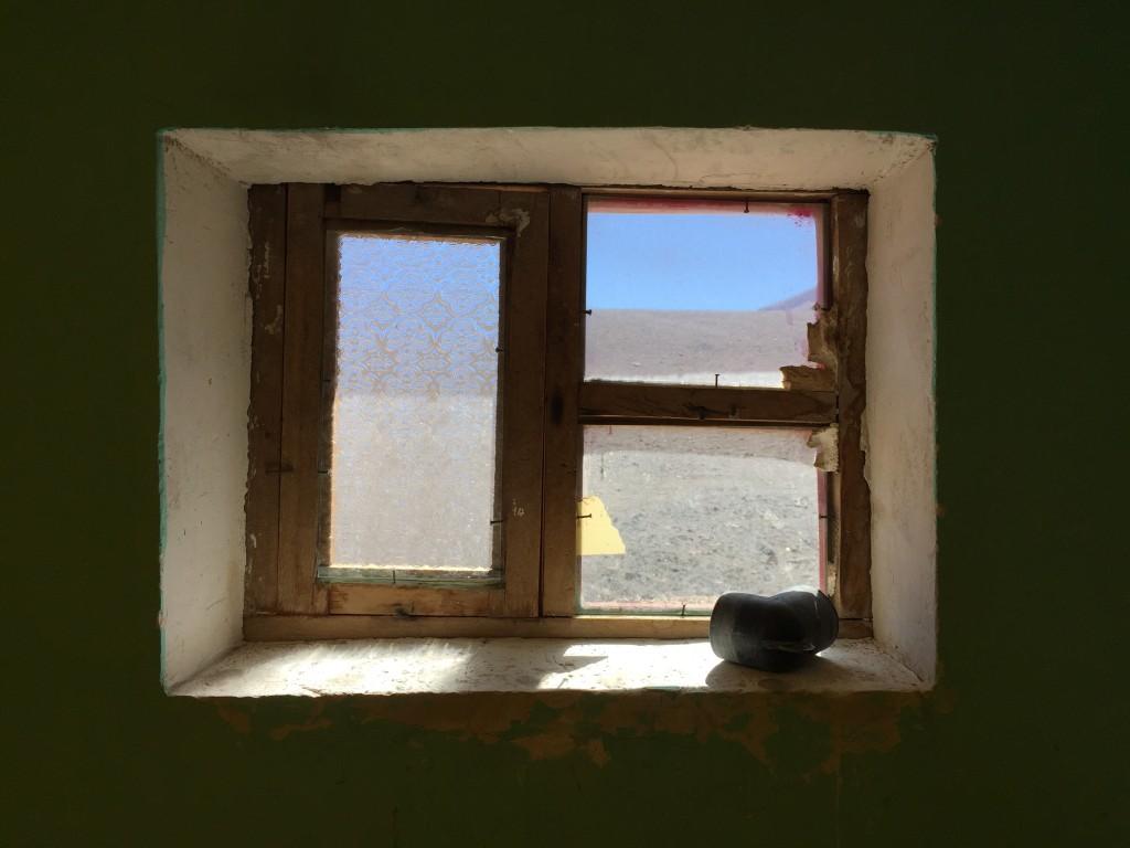 Vue imprenable sur le plateau andin à plus de 4000 mètres d'altitude. Bolivie.