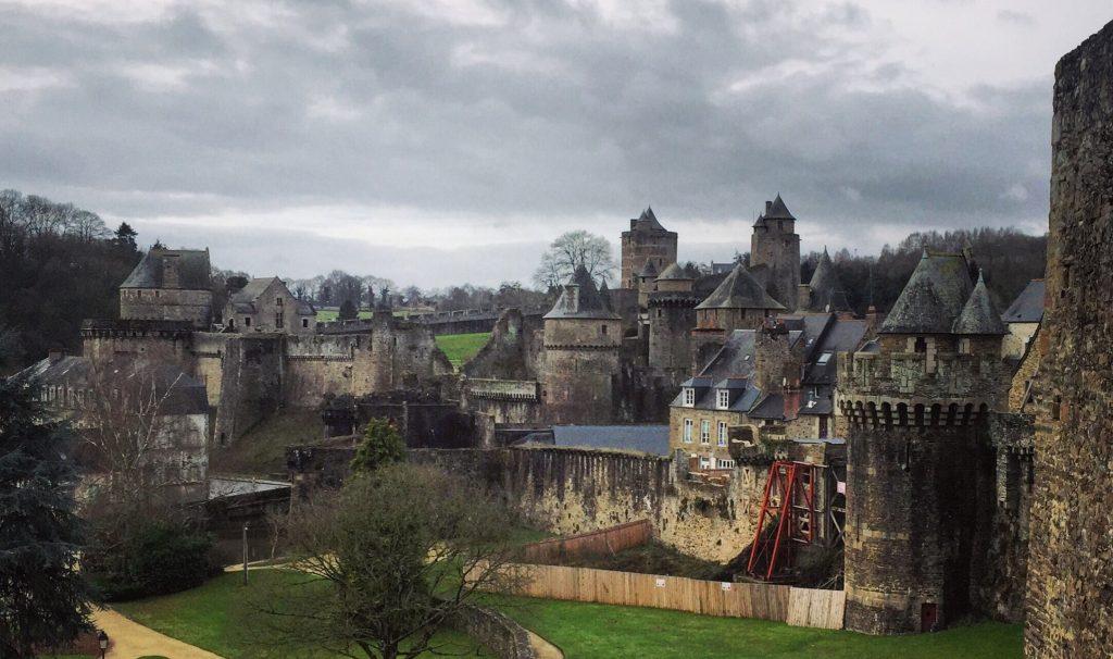 Le magnifique château fort de Fougère