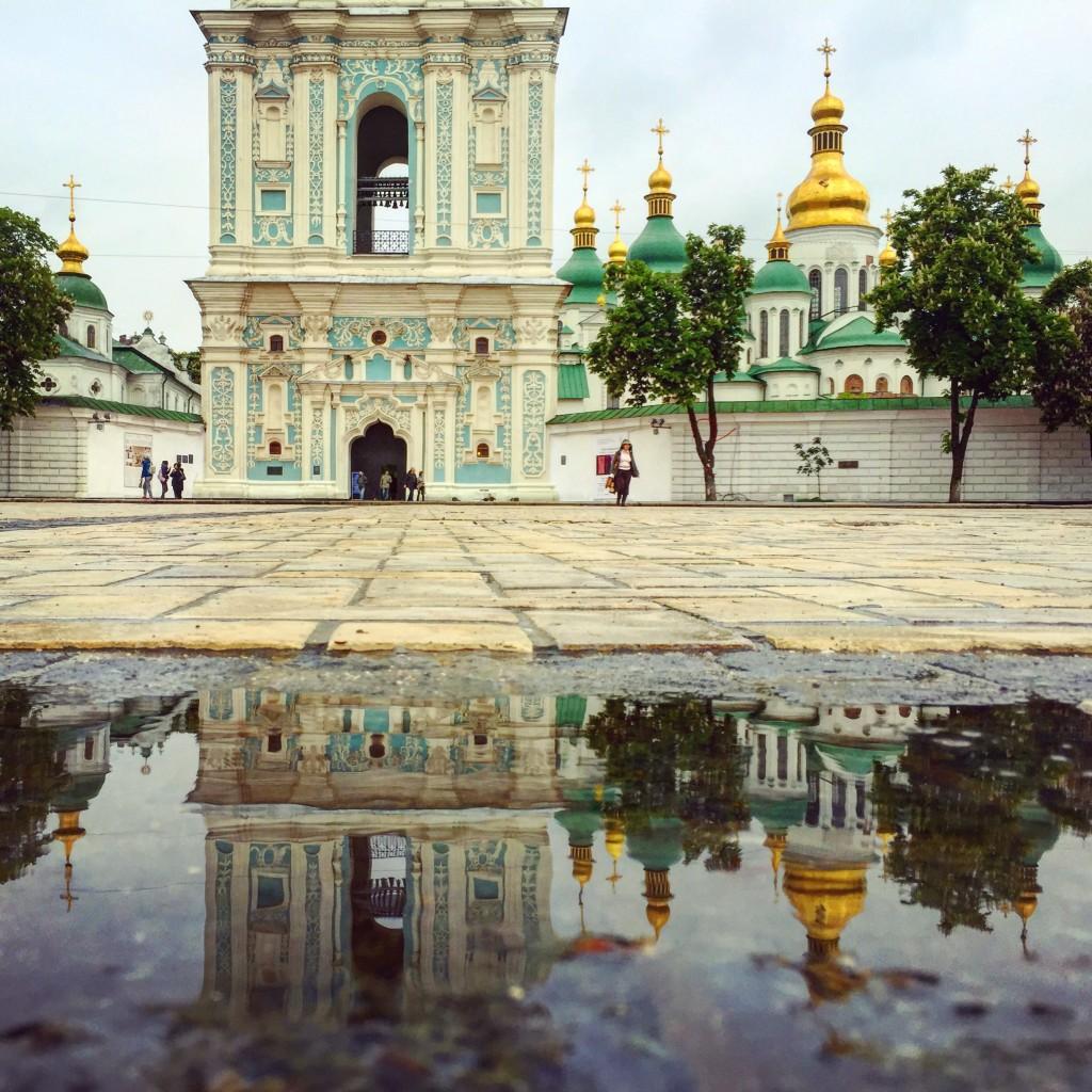 Etonnant reflet religieux à Kiev