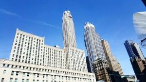 Impressionnants buildings New-yorkais, on rêverait presque d'y travailler...