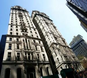 Façade d'immeuble à New York