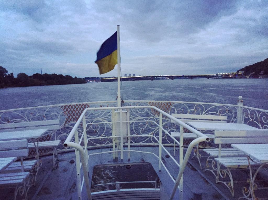 Le Dniepr en Ukraine