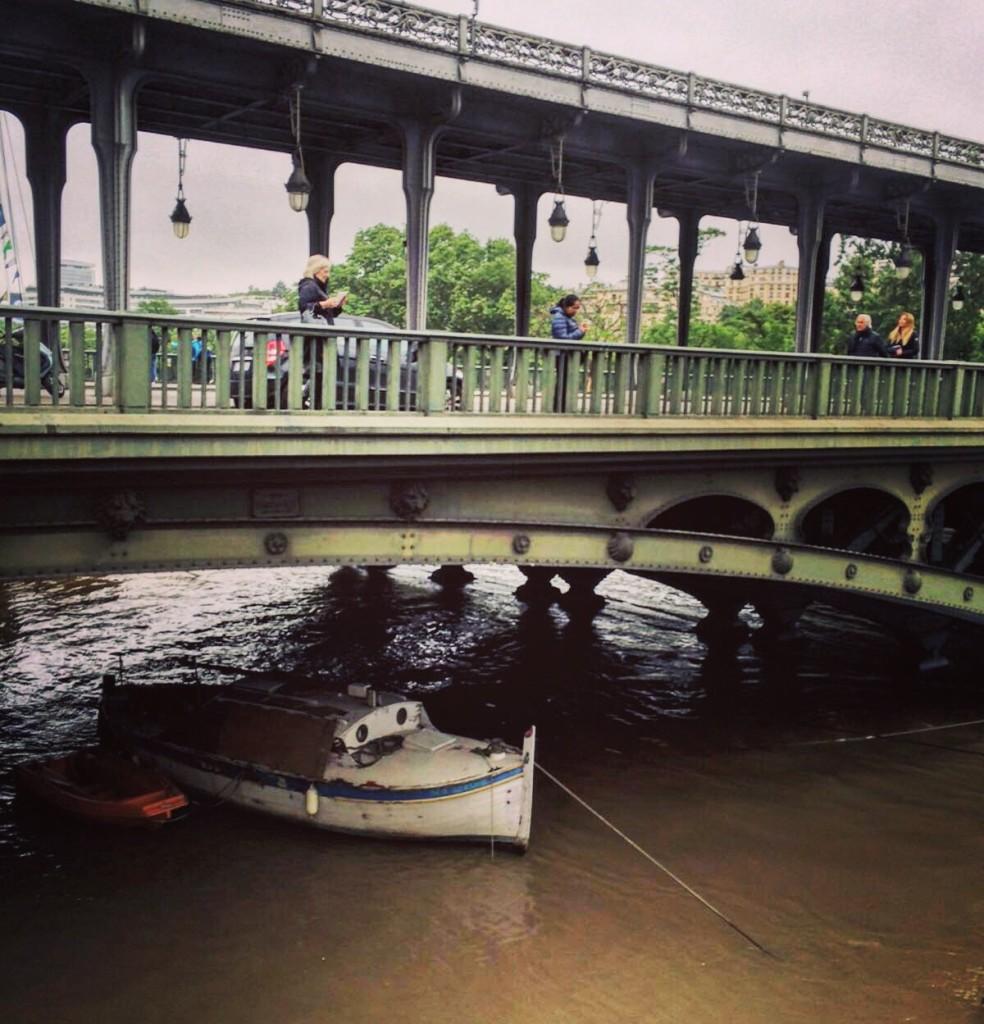 Bir Hakeim, la Seine entre en scène.