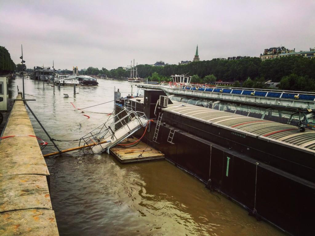 Grâce à la Seine, l'expression monter à bord prend tout son sens!
