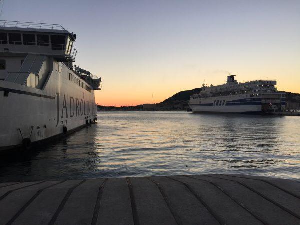 Dans le port de Split, point de départ pour Partir découvrir les plus belles îles de Croatie