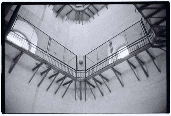 L'intérieur du clocher Sainte-Sophie de Kiev