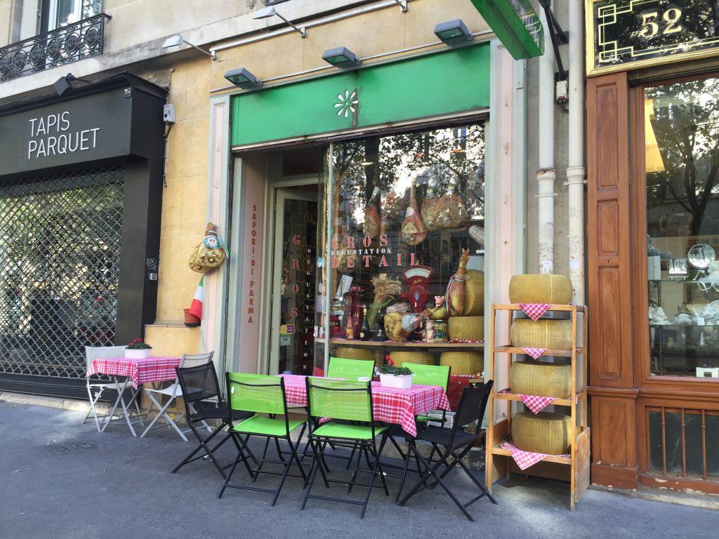 Sapori di Parma, un charmant petit restaurant italien
