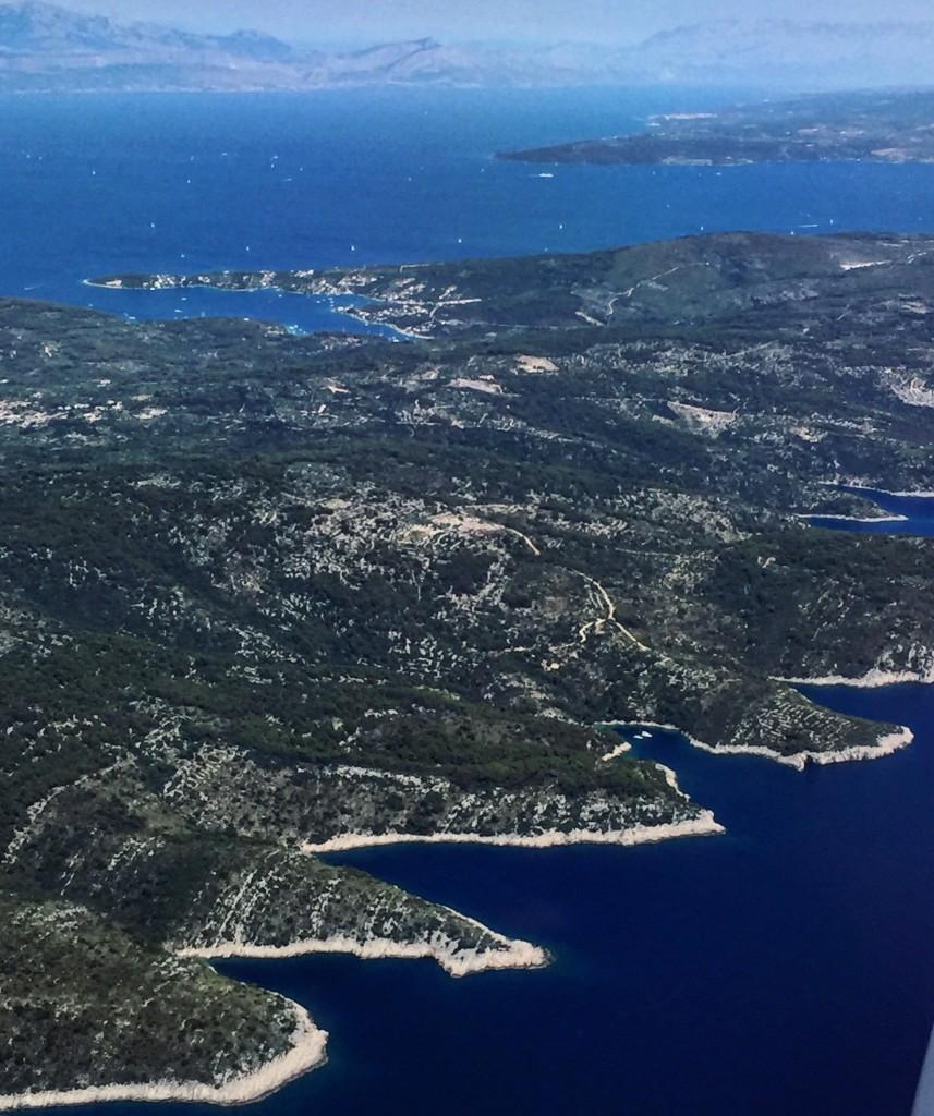 Balade aérienne en Croatie