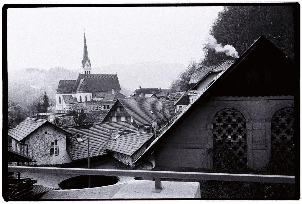 La ville de Bled à 7 heures du matin