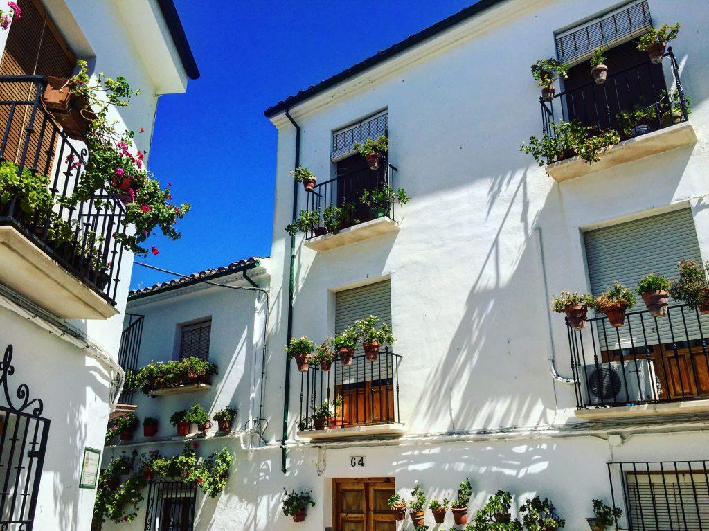 Les ruelles du centre historique de Priego