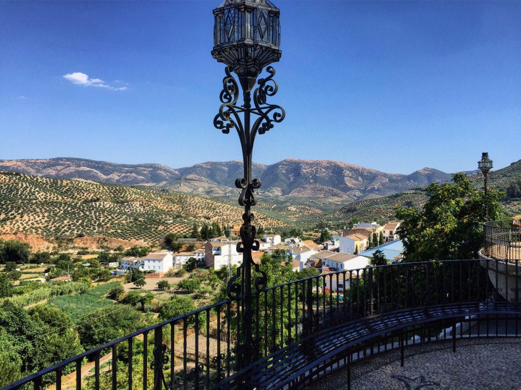 Le superbe panorama depuis les hauteurs de Priego de Córdoba