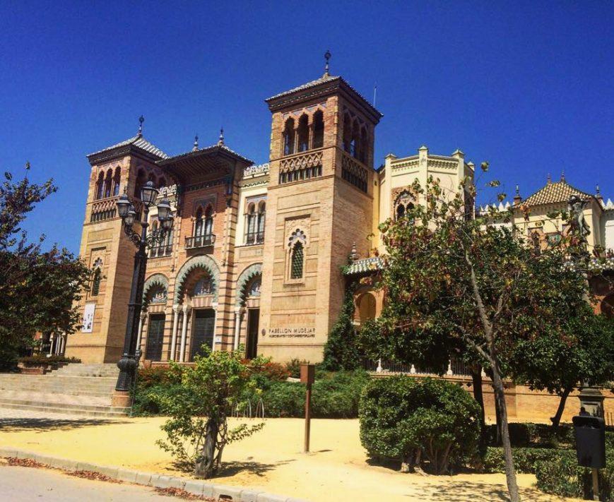La belle ville de Séville qui est aussi l'une des villes les plus chaudes d'Europe