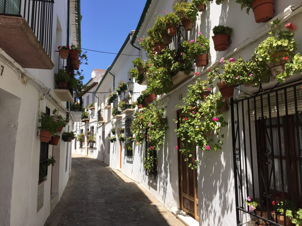 Les petites rues de Priego de Córdoba