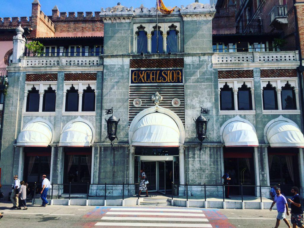 L'hôtel Excelsior, le QG de la Mostra