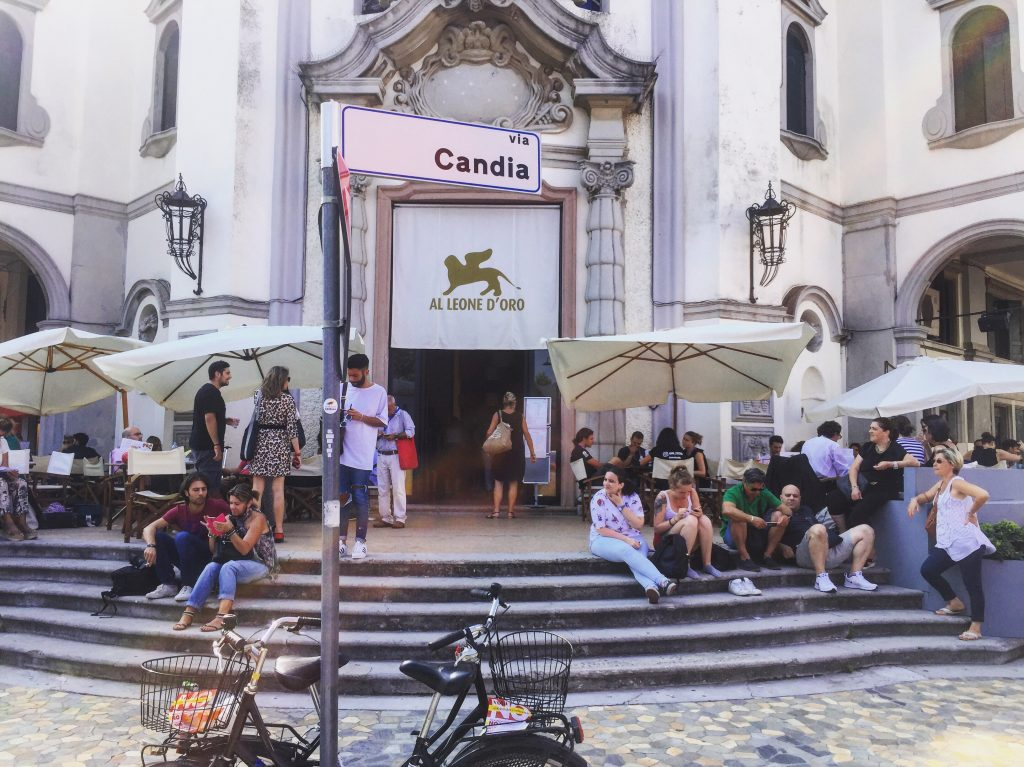 Le café du Lion d'or à Venise