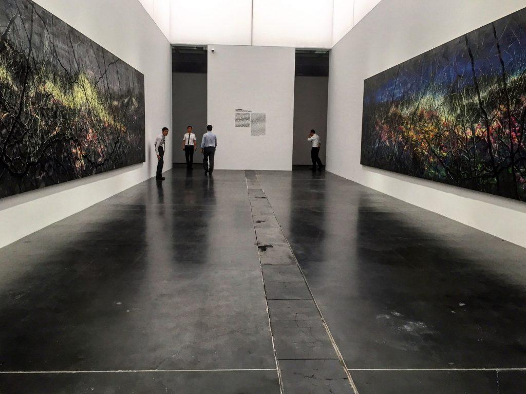 Zeng Fanzhi. Oeuvres grands formats exposées à l'UCCA