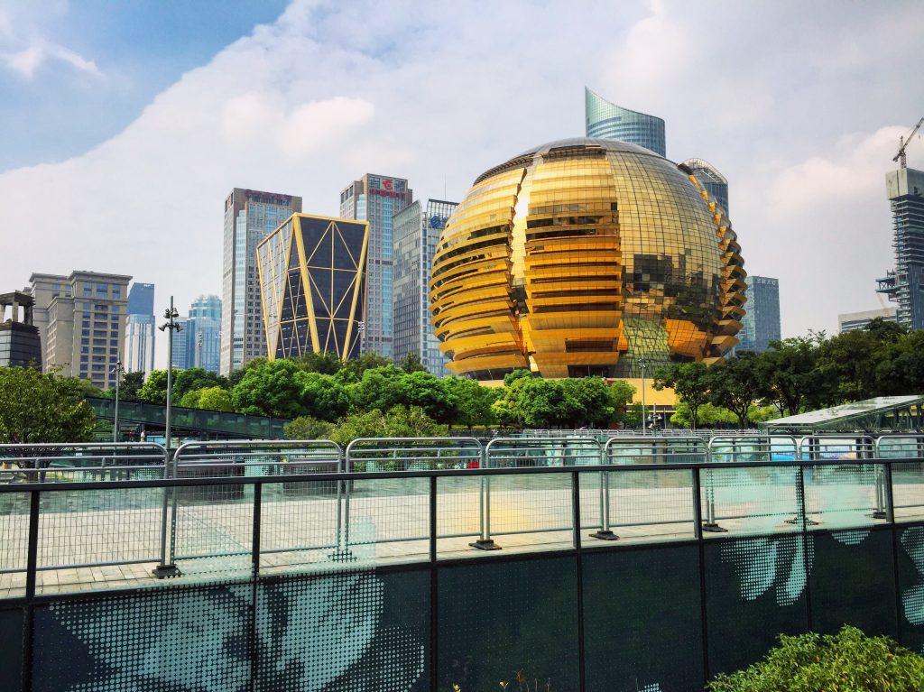 L'hôtel Intercontinental de Hangzhou, servit de lieu pour le sommet du G20
