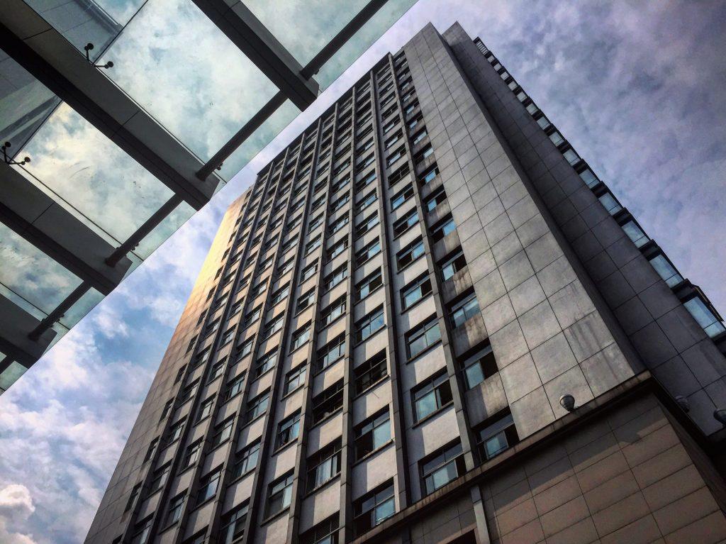 Le quartier d'affaires à Hangzhou