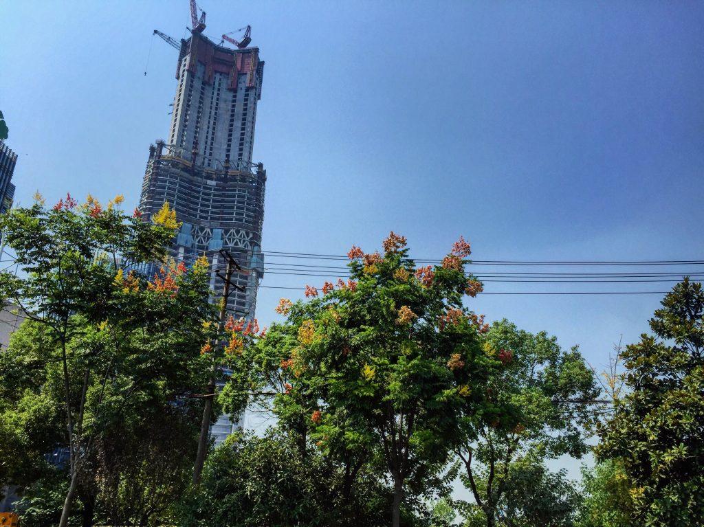 La tour 606 deviendra à terme la 3 ème tour la plus haute de la planète