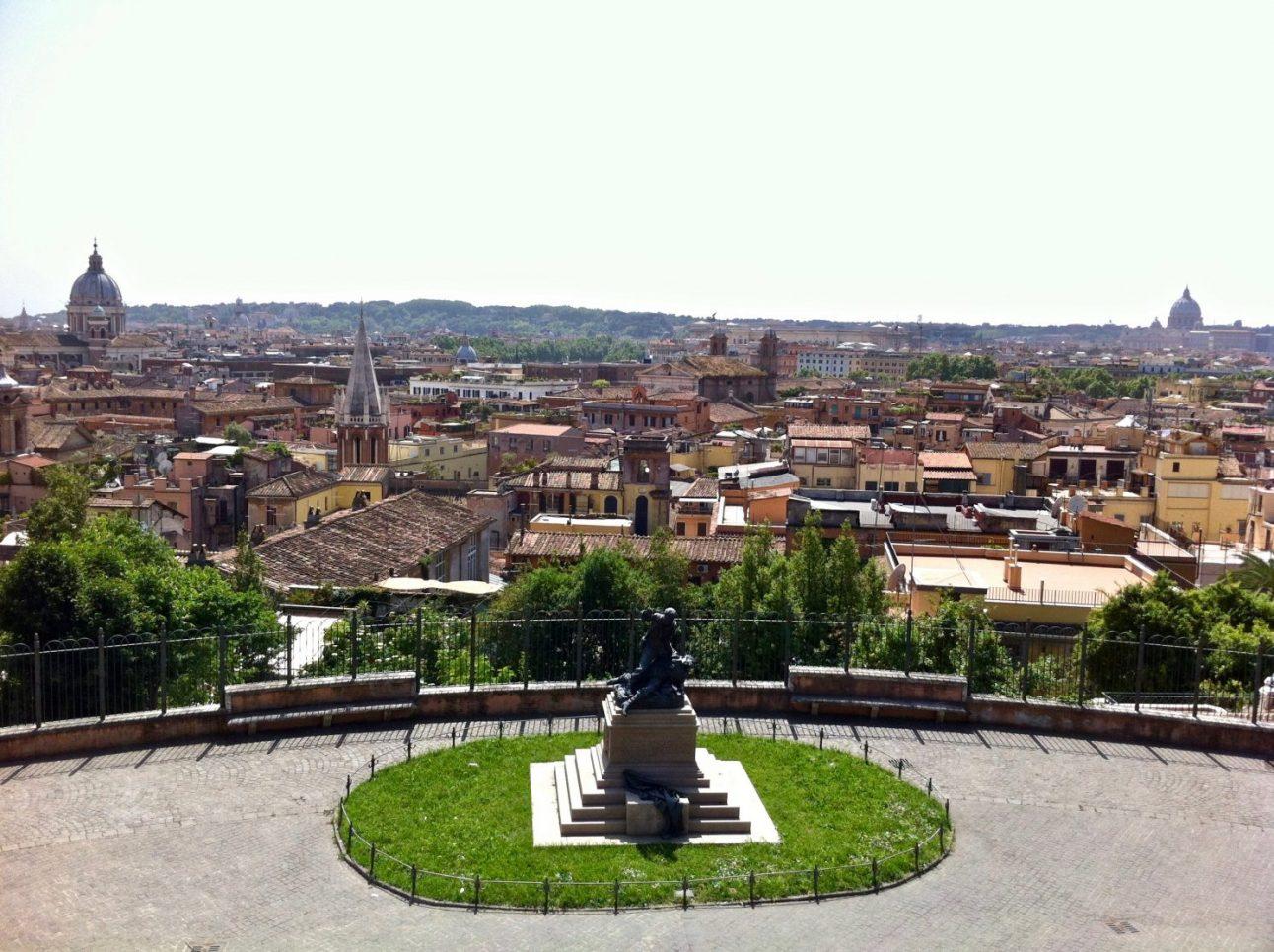 59. Vue sur Rome depuis les hauteurs de la ville