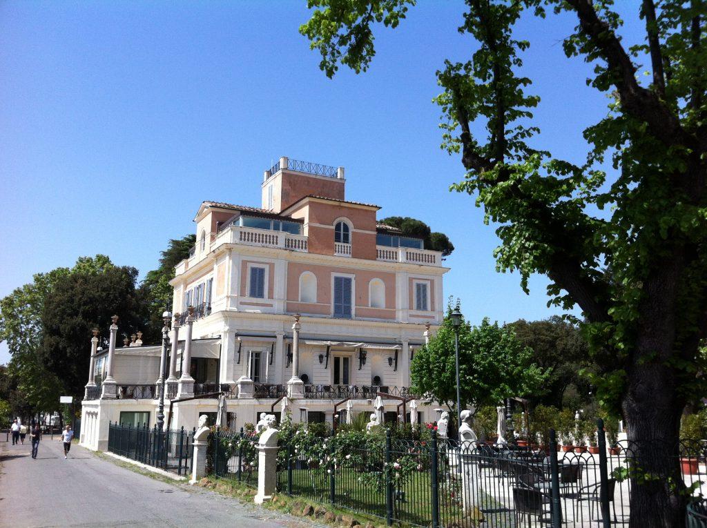 Dans les hauteurs de Rome