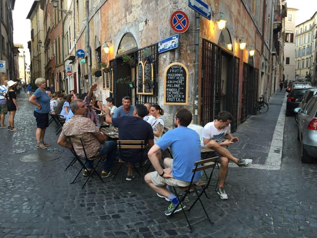 La dolce vita romaine