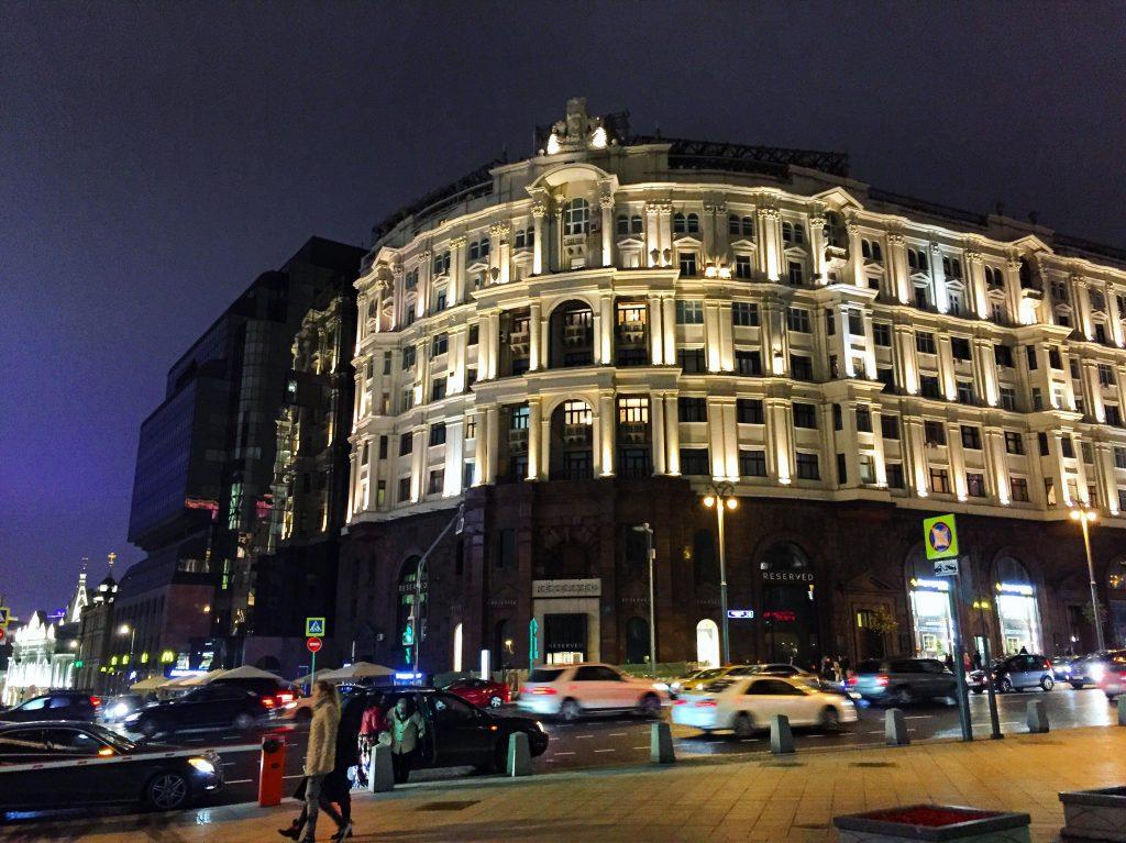De passage sur Tverskaya, les Champs Elysées russes