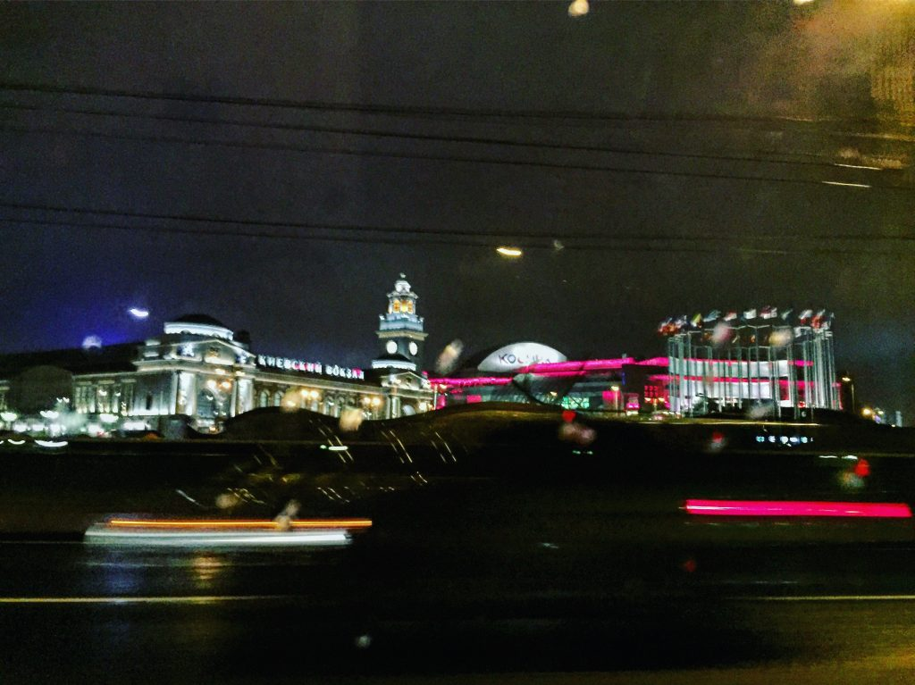 Moscou by night, aventures