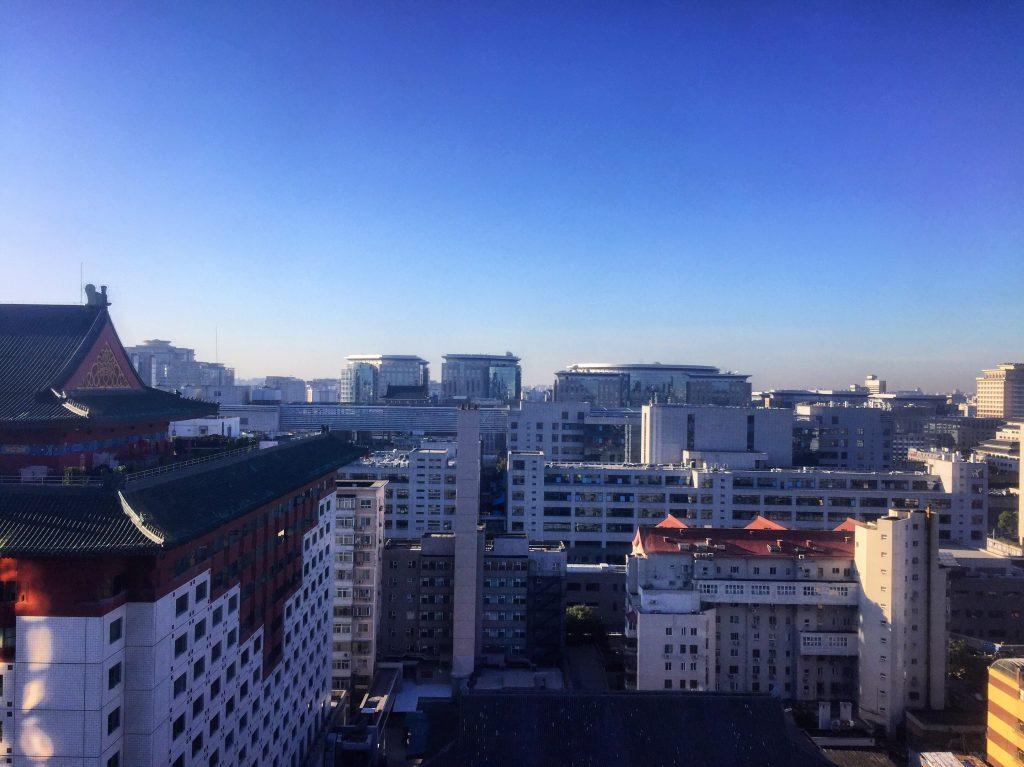 Pékin très tôt le matin