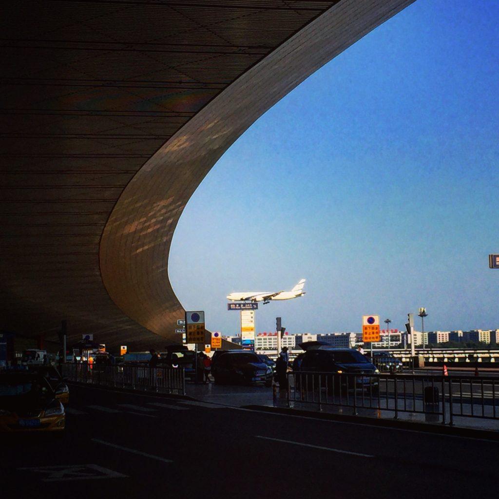 L'aéroport de Pékin, immense.