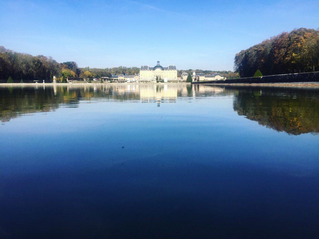 Un reflet matinal à Vaux le Vicomte