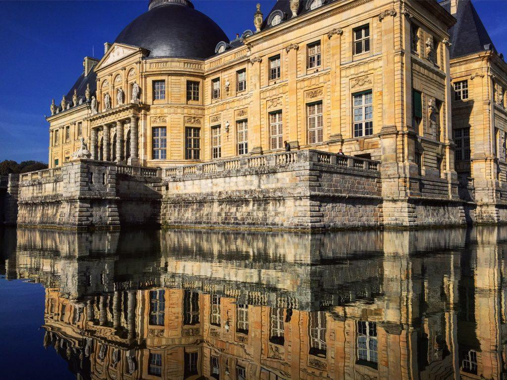 Vaux le Vicomte à la fin du mois d'octobre...