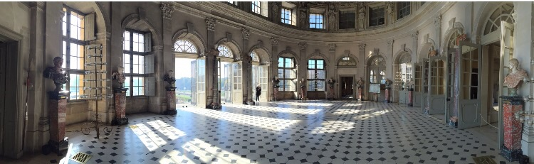 Le grand salon du château de Vaux le Vicomte