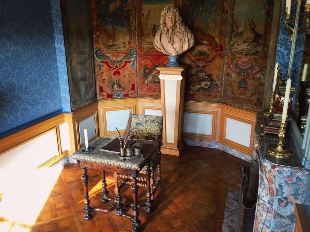 Le charmant petit bureau de Jean de la Fontaine