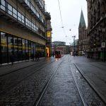 Le centre de la ville de Brême