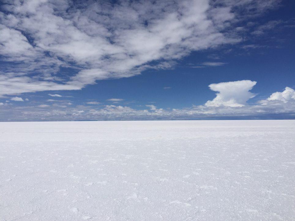 Le désert de sel d' Uyuni, l'un des plus beaux déserts du monde