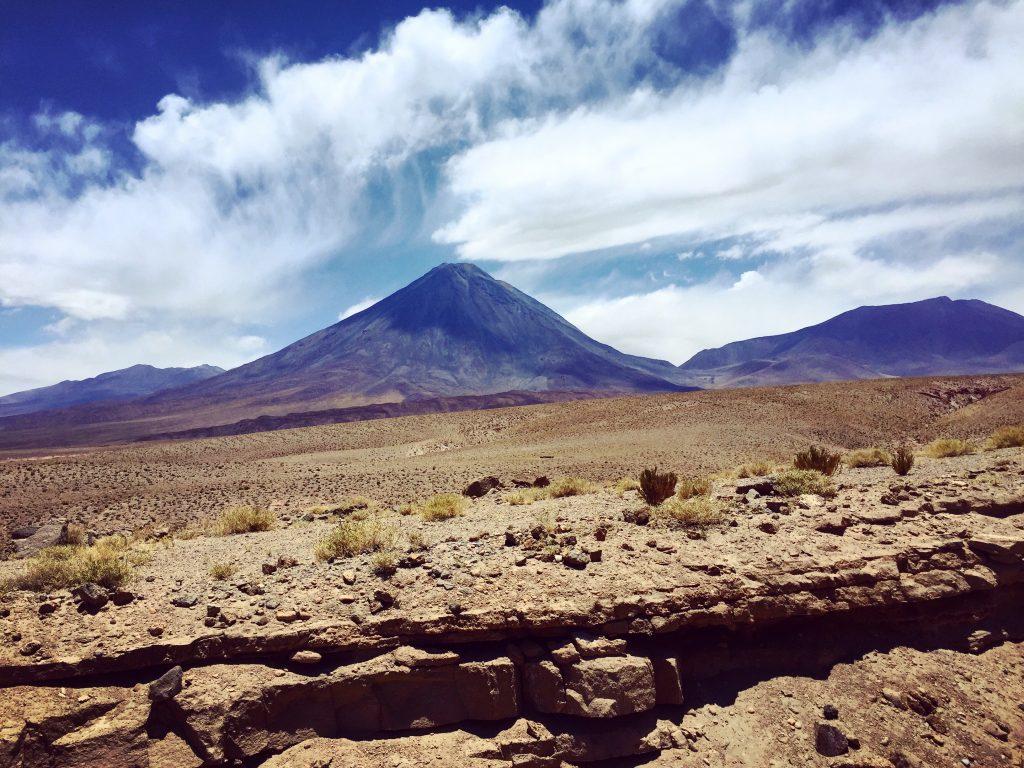 Le volcan Licancabur, vu du côté chilien
