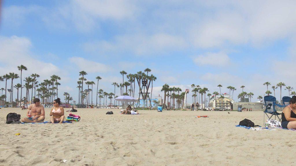 La plage à Los Angeles
