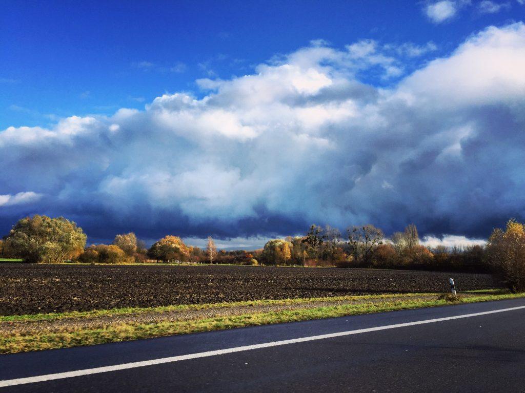 L'automne sur les routes en Allemagne